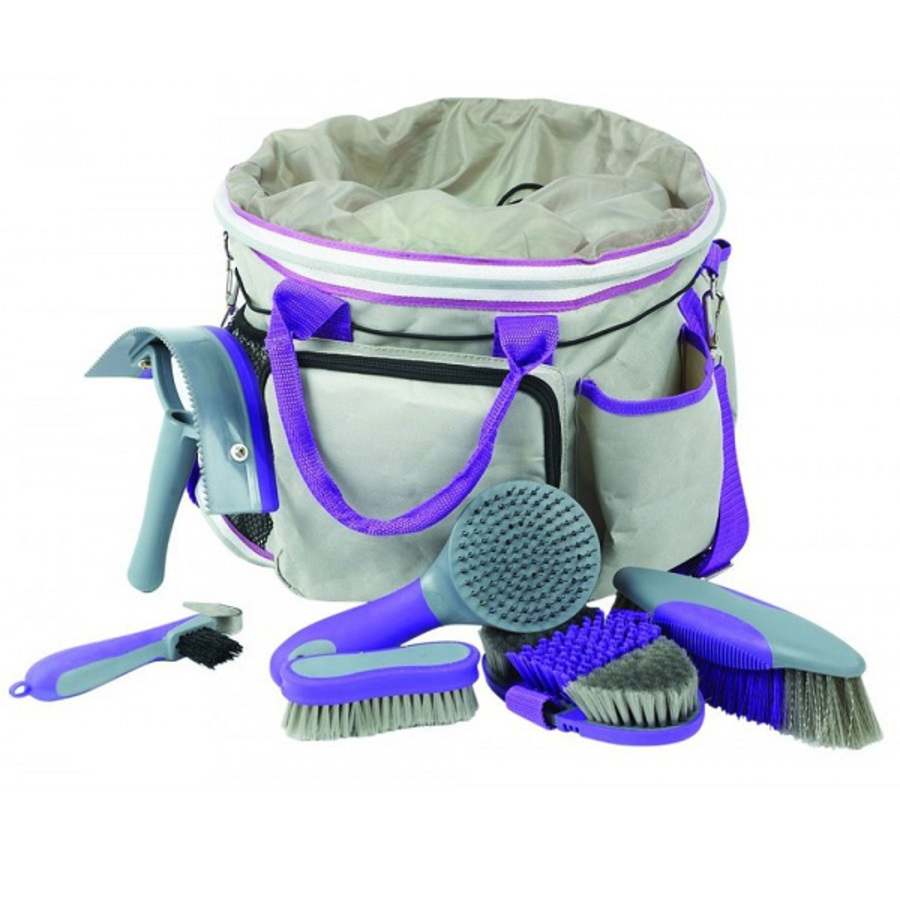 Roma Deluxe Grooming Bag 6 Piece image 1