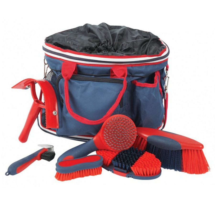 Roma Deluxe Grooming Bag 6 Piece image 0