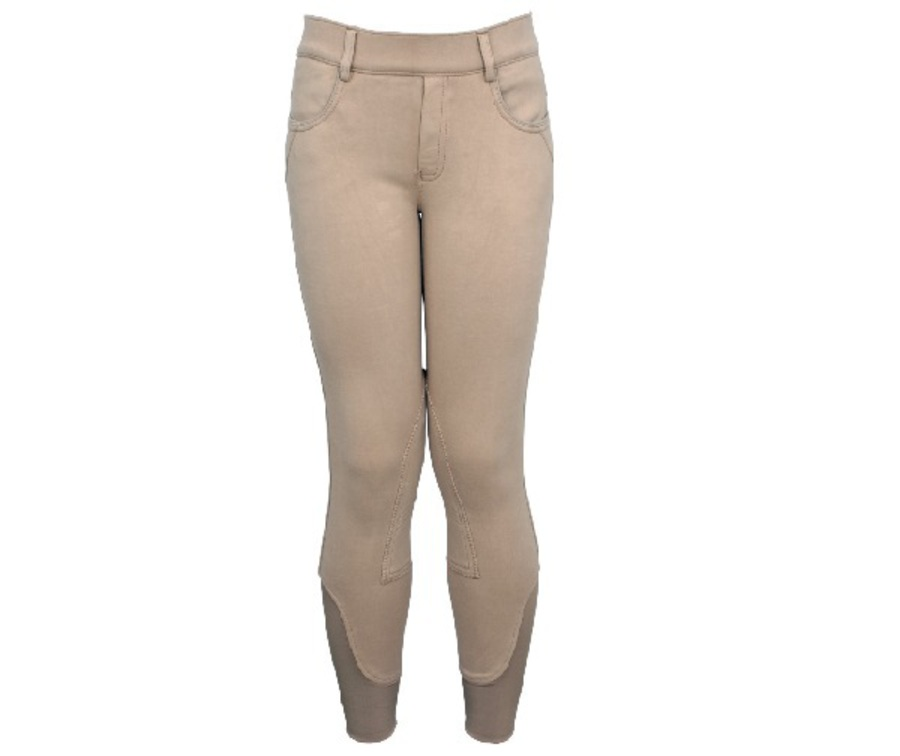 Polka Ponies Knit Breeches image 1