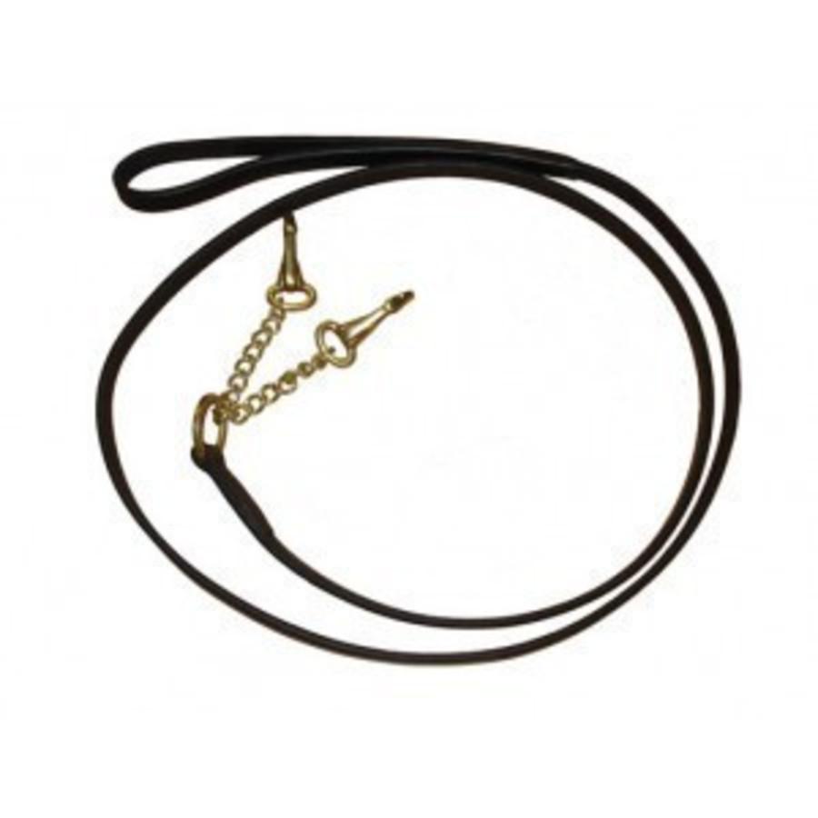 Collegiate Leather Two Chain Lead image 0