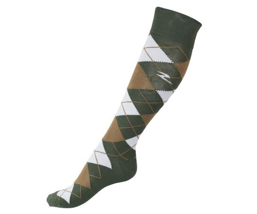Horze Alana Checked Summer Socks image 1