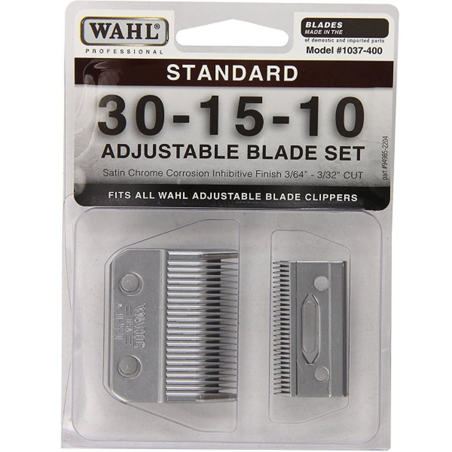 Wahl Clipper Blades Adjustable Cut image 0