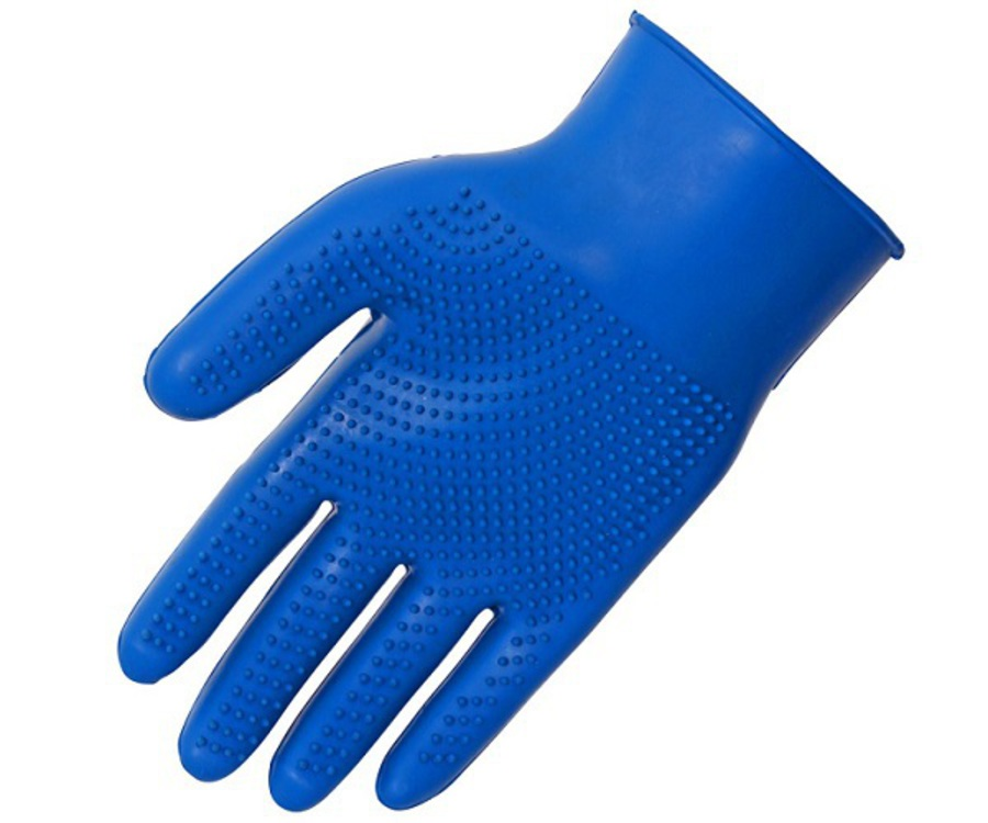 Blue Tag Fine Pimple Grooming Glove image 2
