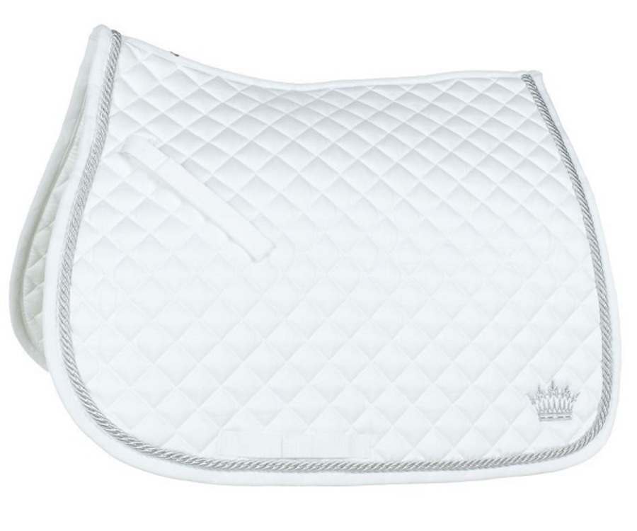 Horze Silver-Cord All Purpose Saddle Pad image 1