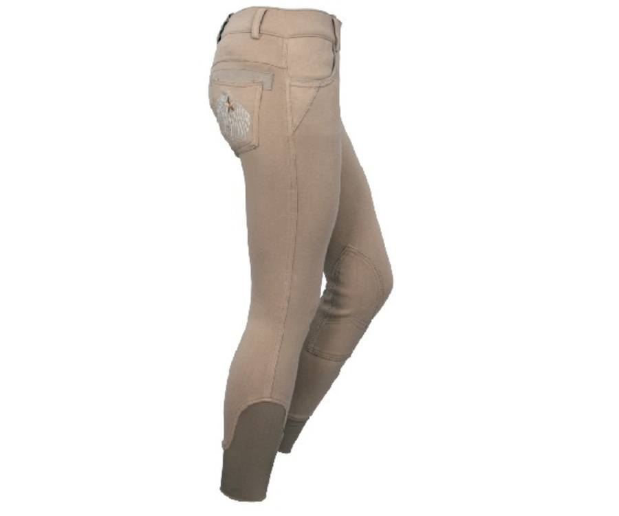 Polka Ponies Knit Breeches image 3