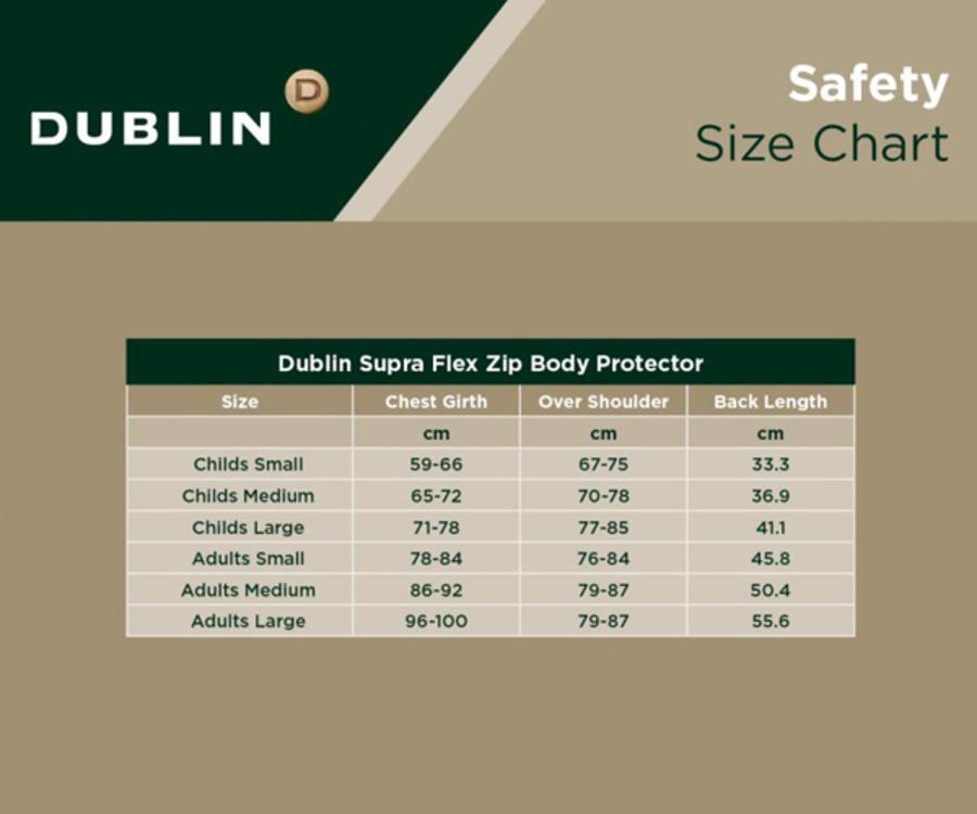 Dublin Supra Flex Zip Body Protector image 1