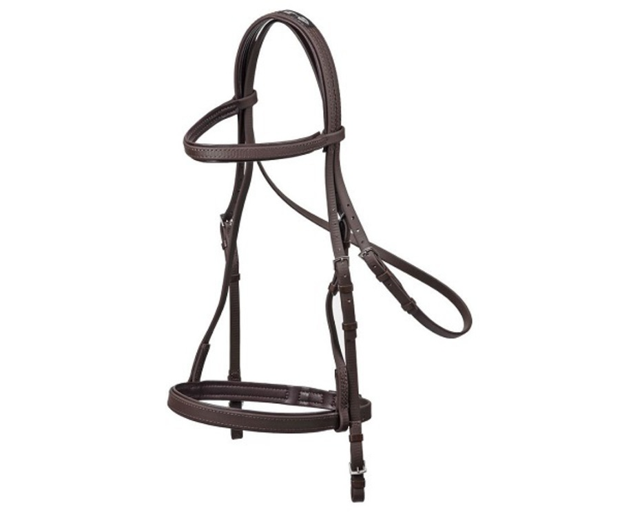 Zilco Training Bridle and Cavesson image 0