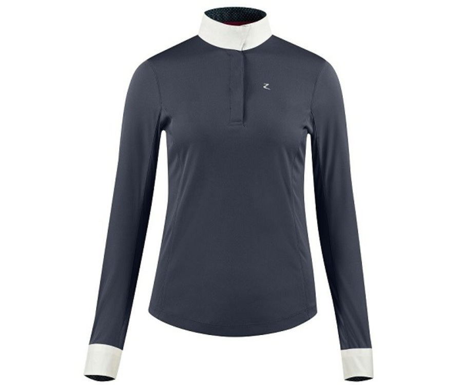 Horze Blaire Ladies' Long Sleeved Show Shirt image 1