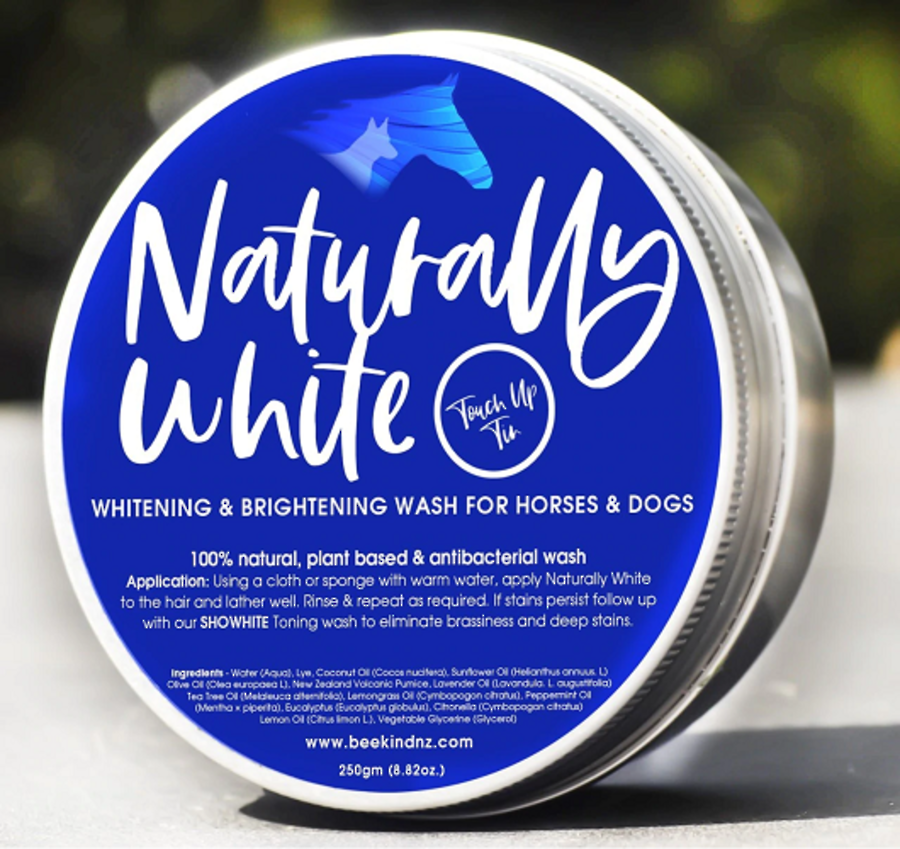 Bee Kind Naturally White' Soap Wash in a Tin! image 0