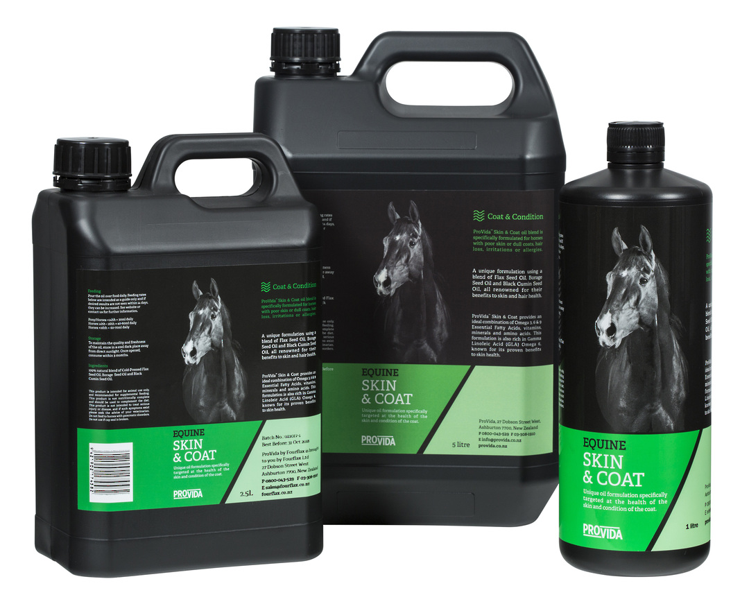 Equine Skin & Coat Oil image 0