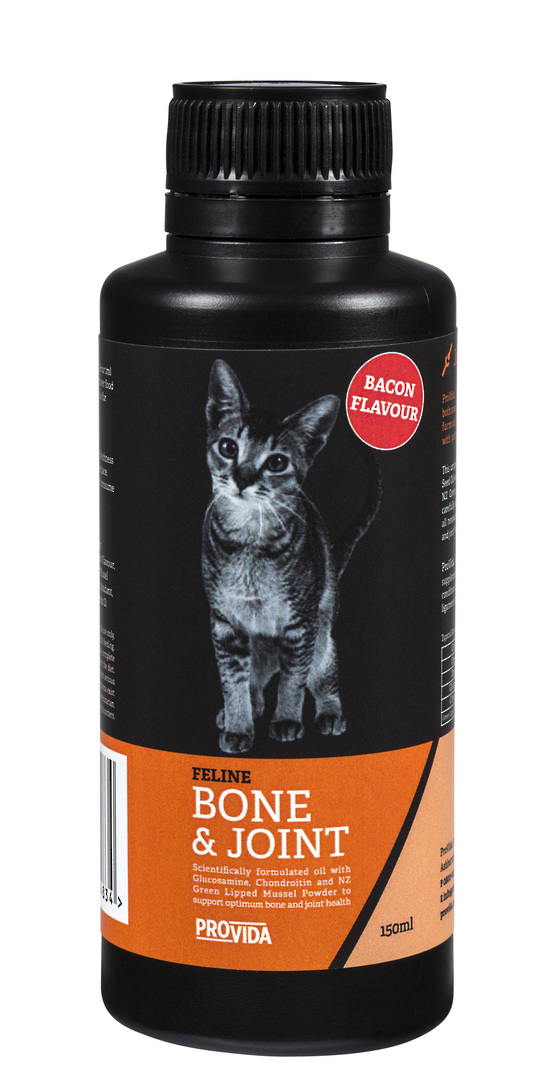 Feline Bone & Joint Oil with Bacon image 0