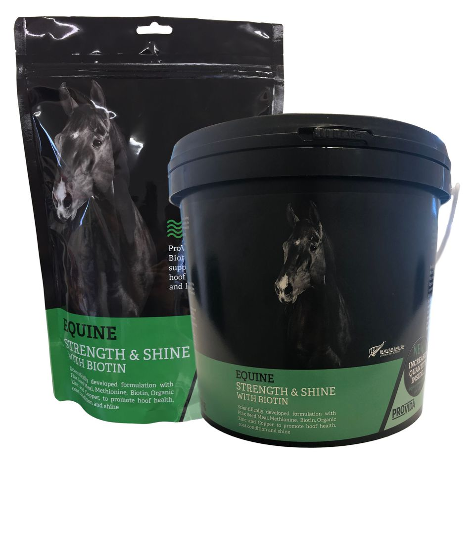 Equine Strength & Shine with Biotin image 0