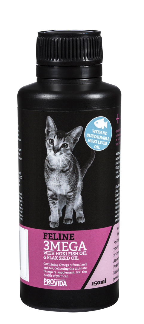Feline 3MEGA with Hoki Fish Oil & Flax Seed Oil image 0