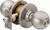 Click to swap image: Bala Commercial Entrance Lock Knobset with 95mm Backset Satin Stainless Steel