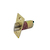 Click to swap image: 70mm Fixed Backset Fire Rated Deadlocking Latch Polished Brass