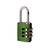 Click to swap image: Resettable Aluminium Combination Padlock RA20 Green