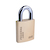 Click to swap image: Commercial Solid Brass Padlock AU908RBP