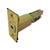 Click to swap image: 60-70mm Adjustable Deadbolt Latch Polished Brass