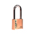 Click to swap image: Light Commercial Resettable Brass Combination Padlock SRB52R