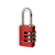 Click to swap image: Resettable Aluminium Combination Padlock RA20 Red