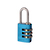Click to swap image: Resettable Aluminium Combination Padlock RA20 Blue