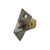 Click to swap image: 60-70mm Adjustable Dead Locking Latch Antique Brass