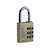 Click to swap image: Resettable Brass Combination Padlock RB30