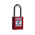 Click to swap image: Safety Plastic Padlock Series R3V Red