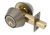 Click to swap image: Double Cylinder Deadbolt Lock Antique Brass