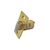Click to swap image: 60-70mm Adjustable Spring Latch Polished Brass
