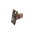 Click to swap image: 70mm Fixed Backset Fire Rated Deadlocking Latch Antique Brass