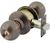 Click to swap image: Bala Knobset Entrance Lock Antique Brass Keyed Alike