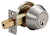 Click to swap image: Single Cylinder DeadBolt Lock Satin Stainless Steel Keyed Alike
