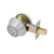 Click to swap image: Light Commercial Single Cylinder Deadbolt Stainless Steel