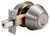 Click to swap image: Double Cylinder Deadbolt Lock Satin Stainless Steel