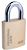 Click to swap image: Commercial Solid Brass Padlock AU908RBPKA