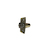 Click to swap image: 70mm Fixed Backset Fire Rated Deadlocking Latch Stainless Steel