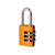 Click to swap image: Resettable Aluminium Combination Padlock RA20 Yellow