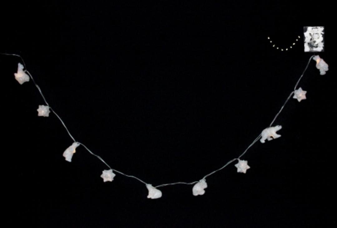 Polar Bear and Snowflake LED Lights 1.8 mtr image 0