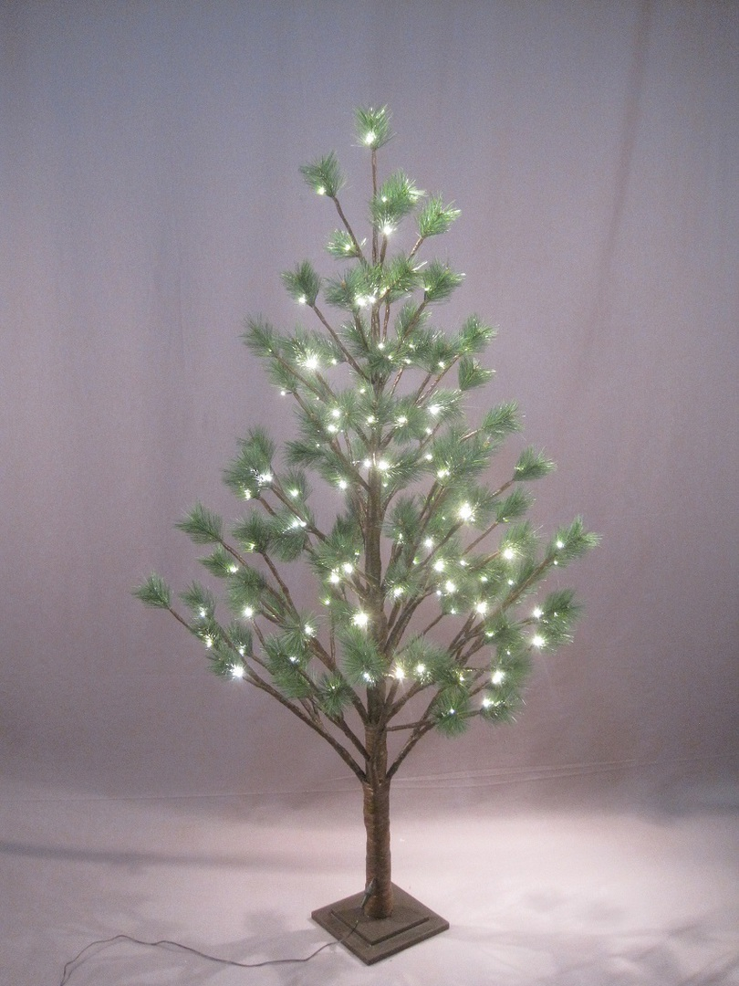 Pine Tree 1.8mtr with 124 LED Lights image 0