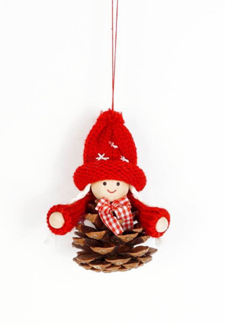 Scandi Pincone Child with Knit Hat image 0