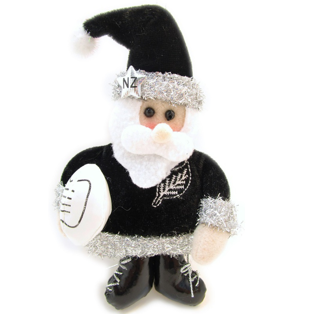 Iconic Fabric Rugby Santa image 0