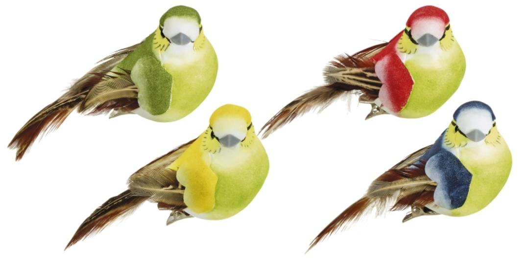 BirdClip Swamp Tit 9cm image 0