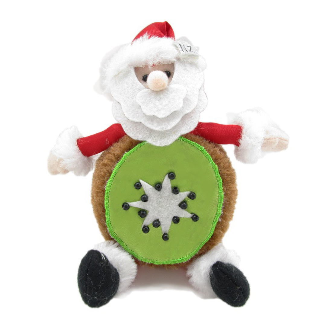 Iconic Fabric KiwiFruit Santa image 0