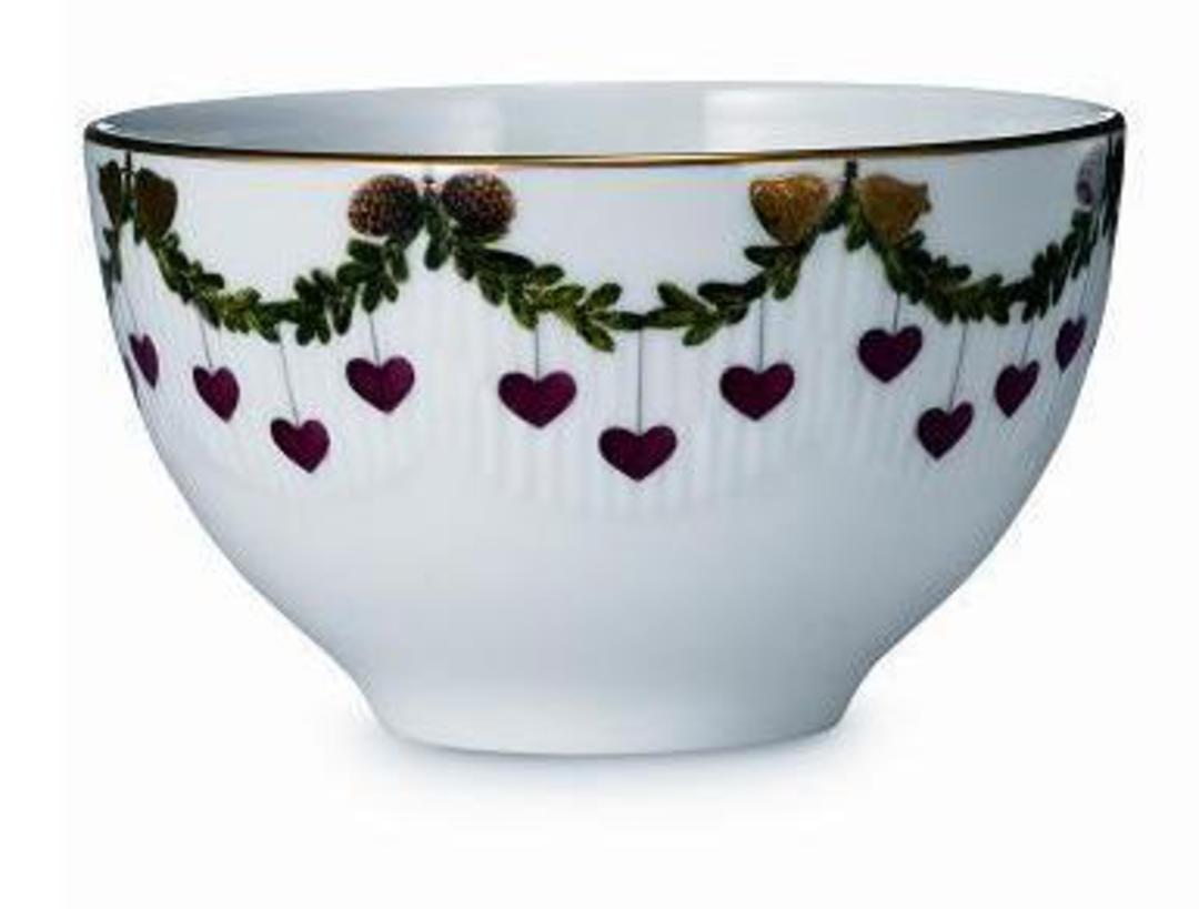 Starfluted Christmas Small Bowl image 0
