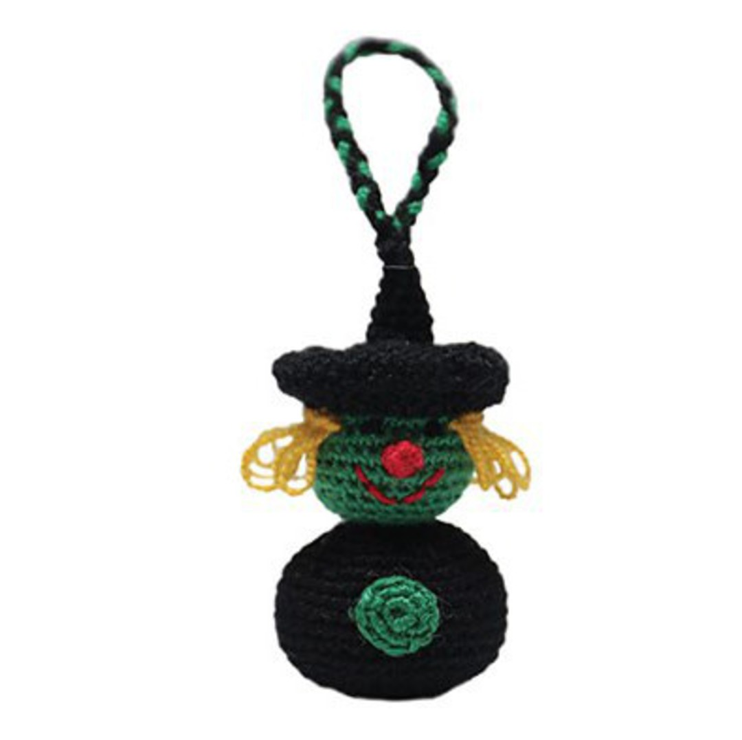 Mini Crocheted Witch image 0