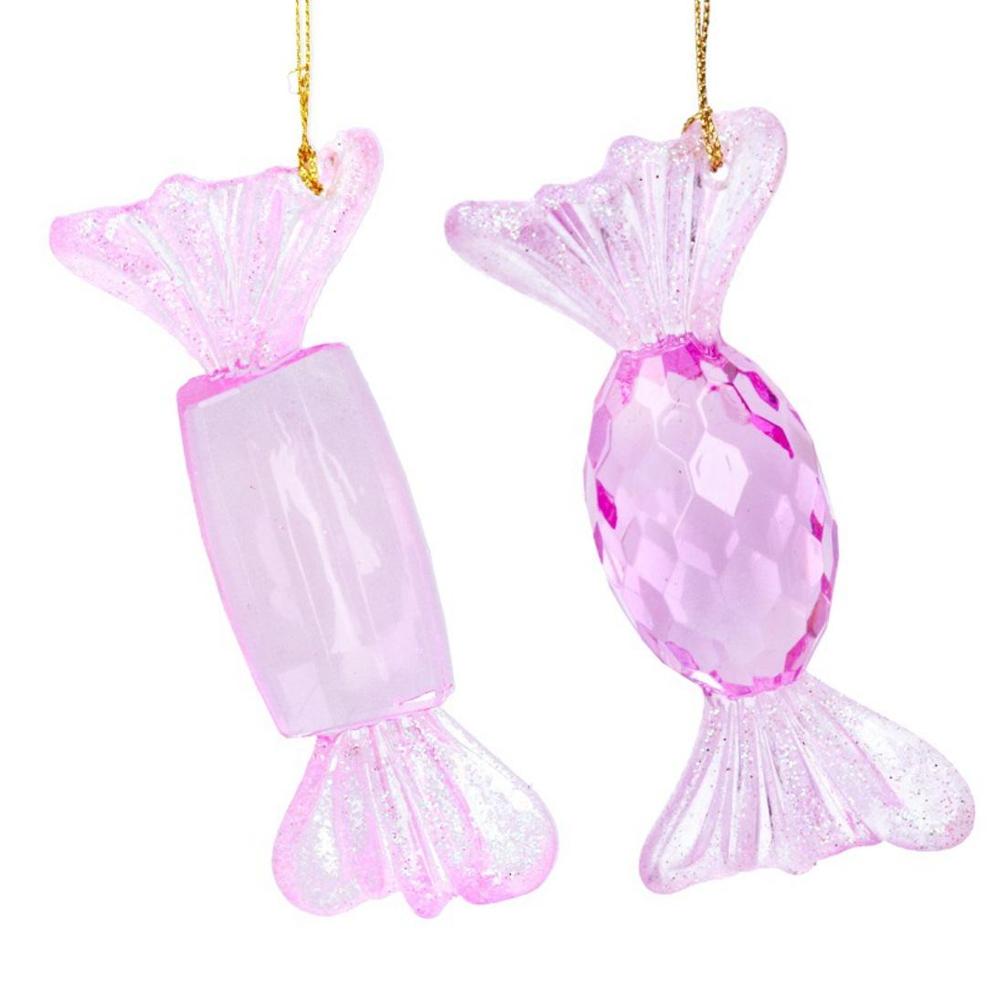 Acrylic Pink Sweets 10cm image 0