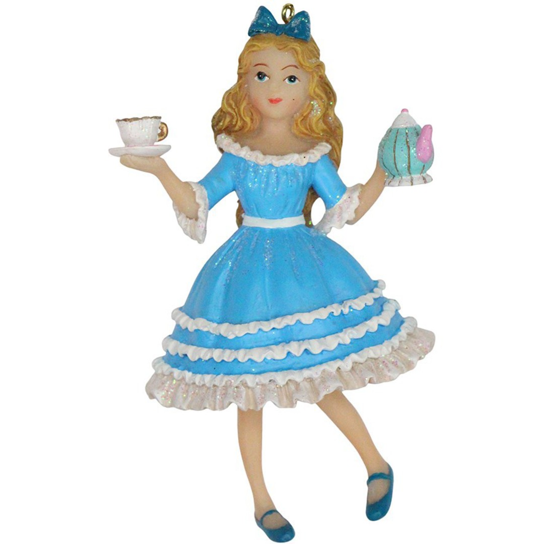 Resin Alice in Wonderland 11cm image 0