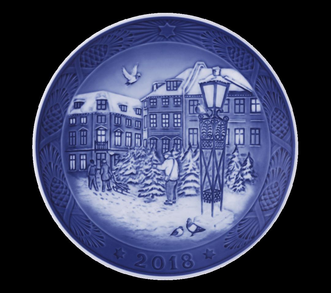 Royal Copenhagen Annual Christmas Plate 2018 image 0
