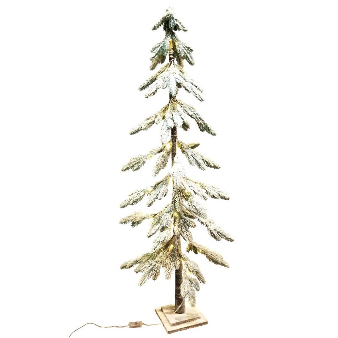 Snowy Fir Tree 1.5mtr, 52 LED Lights image 0